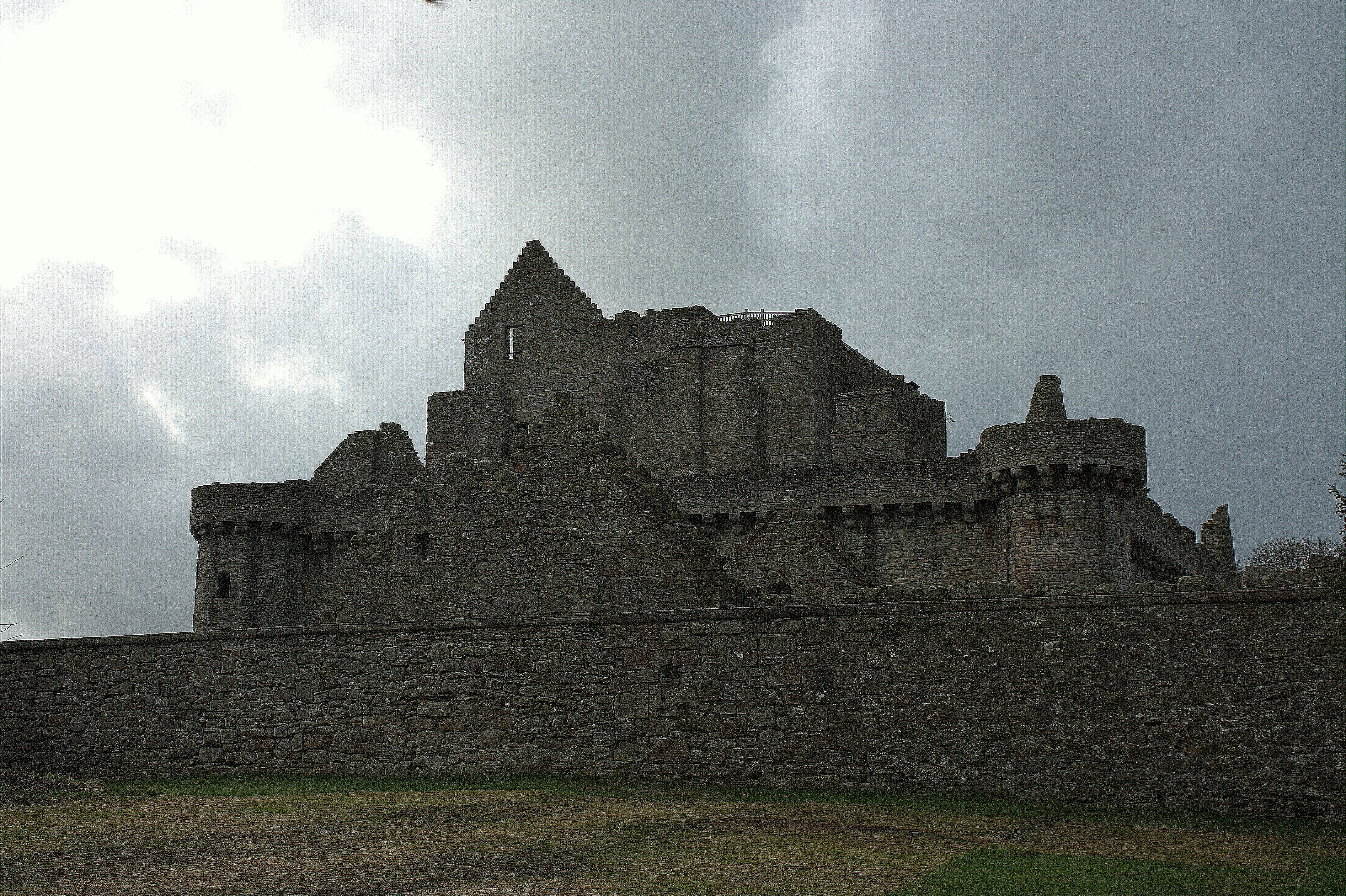 01. Craigmillar Castle, Edinburgh, Scotland