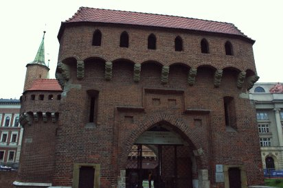 16. Barbican, Florian's Gate & City Walls, Krakow, Poland