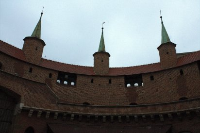 18. Barbican, Florian's Gate & City Walls, Krakow, Poland