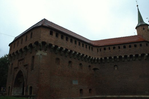 23. Barbican, Florian's Gate & City Walls, Krakow, Poland