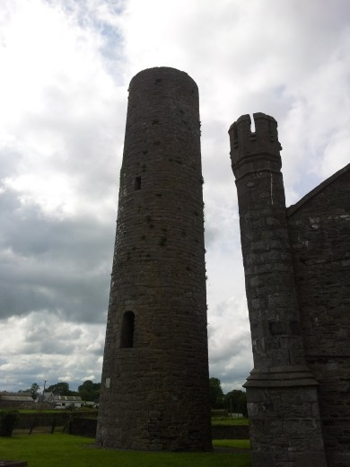 02. Taghadoe Church and Round Tower