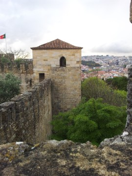 57. Castle of St. George, Lisbon, Portugal