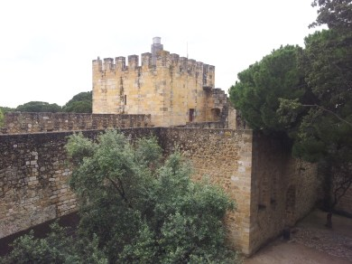 66. Castle of St. George, Lisbon, Portugal