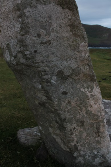 05. Coumeenoole Ogham Stone, Co. Kerry