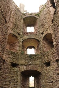 15. Raglan Castle, Monmouthshire, Wales