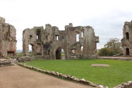27. Raglan Castle, Monmouthshire, Wales