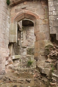 30. Raglan Castle, Monmouthshire, Wales