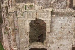 43. Raglan Castle, Monmouthshire, Wales