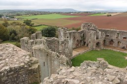 44. Raglan Castle, Monmouthshire, Wales