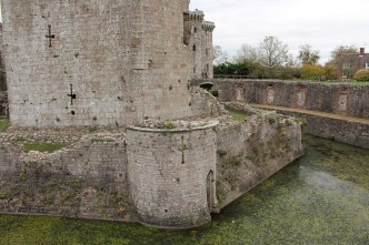 54. Raglan Castle, Monmouthshire, Wales