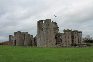 56. Raglan Castle, Monmouthshire, Wales