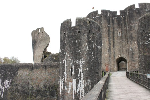 09. Caerphilly Castle, Wales