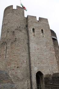 17. Caerphilly Castle, Wales