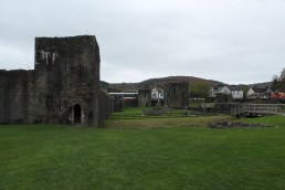 53. Caerphilly Castle, Wales