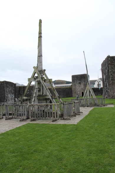54. Caerphilly Castle, Wales