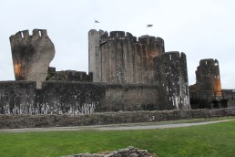 58. Caerphilly Castle, Wales