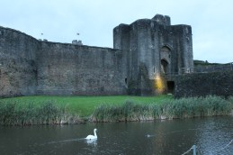 69. Caerphilly Castle, Wales