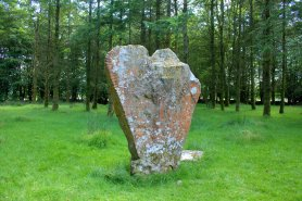 02. Knickeen Ogham Stone, Co. Wicklow