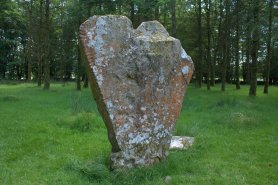 03. Knickeen Ogham Stone, Co. Wicklow