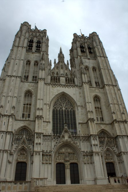 01. Cathedral of St. Michael and St. Gudula, Belgium