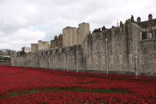 10. Tower of London, England