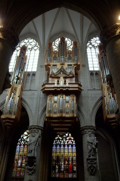25. Cathedral of St. Michael and St. Gudula, Belgium