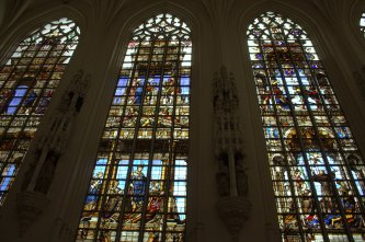 32. Cathedral of St. Michael and St. Gudula, Belgium