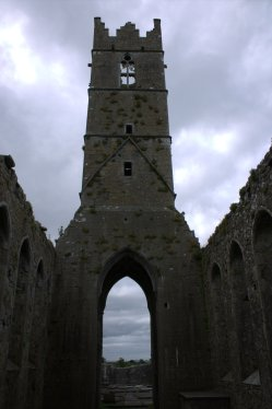 13. Claregalway Friary, Co. Galway