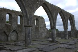 19. Claregalway Friary, Co. Galway