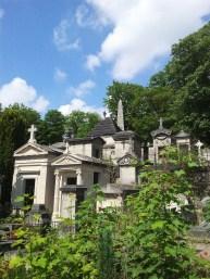 25. Pére Lachaise Cemetery, Paris, France