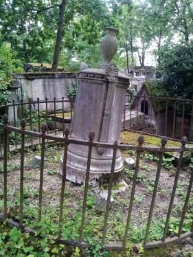 55. Pére Lachaise Cemetery, Paris, France