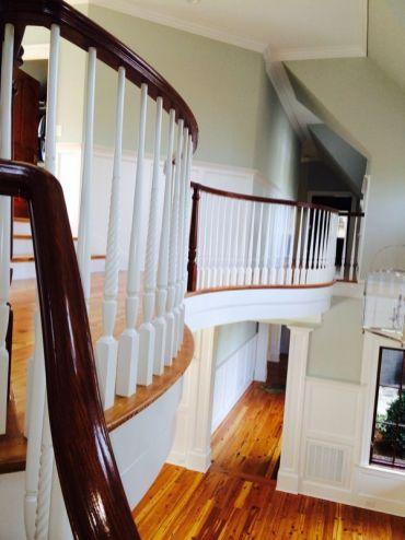 Brightleaf Curved Staircase
