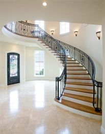 Curved Staircase remodel
