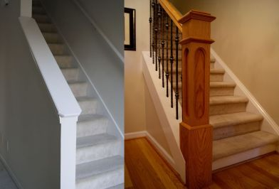 Custom Stairs and Newell