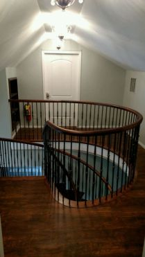 Dingler Custom Curved Staircase 4