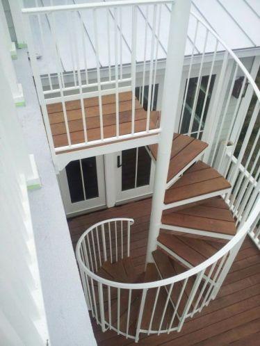 Exterior Spiral Stair 3