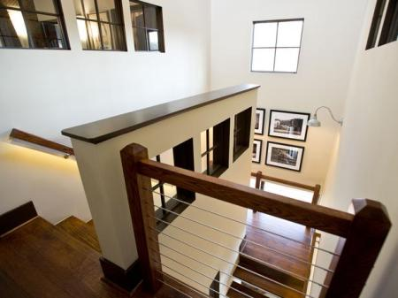 HGTV Open Stairs Lighted Rails 2