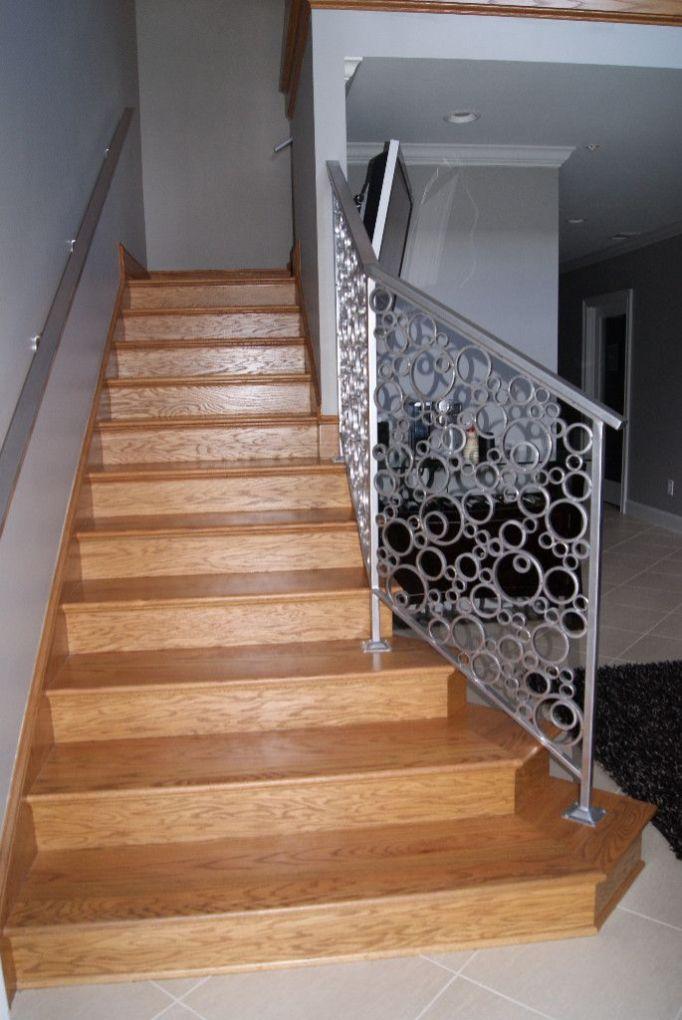 Iron Circle Baluster Stair 1