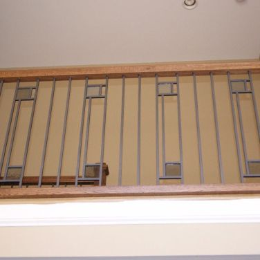 Modern Baluster with Square