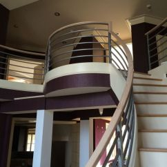 Modern Curved Staircase 12