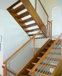 Stairs with Cable Railing