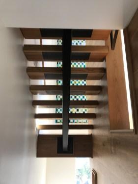 25 - Mono stringer Straight stair