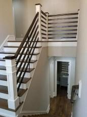 Farmhouse open Straight Stair
