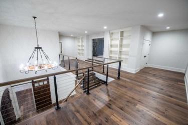 58-Modern wood stairs