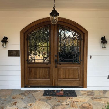 Custom-Yvonne-Style-Textured-glass-and-Ironwork