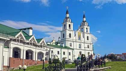 Minsk main orthodox cathedral
