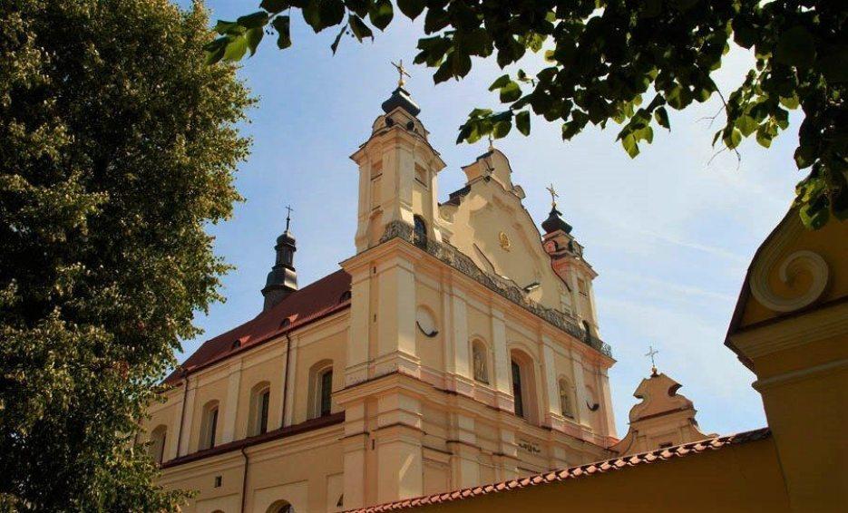 Костел Девы Марии в Пинске