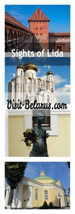 Sights of Lida, what's worth visiting in the city, collage Visit-Belarus