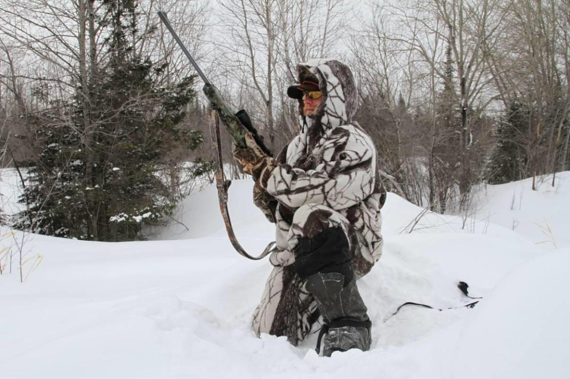 winter hunting in Belarus