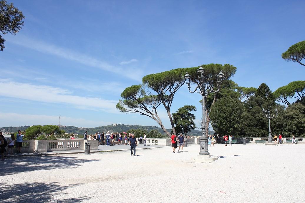 Terrazza del Pincio spend the Perfect Day in Villa Borghese
